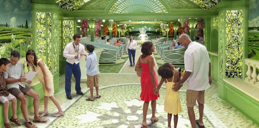 Enchanted Garden Disney Dream Dining Cool Cruise News